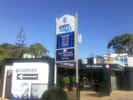 Palm Court Motor Inn - Accommodation in Brisbane