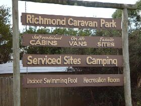 Richmond Cabin  Tourist Park - Accommodation in Brisbane