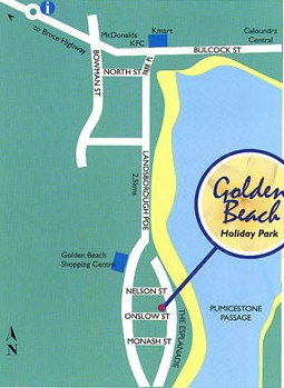 Golden Beach Holiday Park - Accommodation in Brisbane