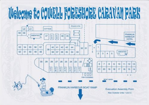 Cowell Foreshore Caravan Park amp Holiday Units - Accommodation in Brisbane