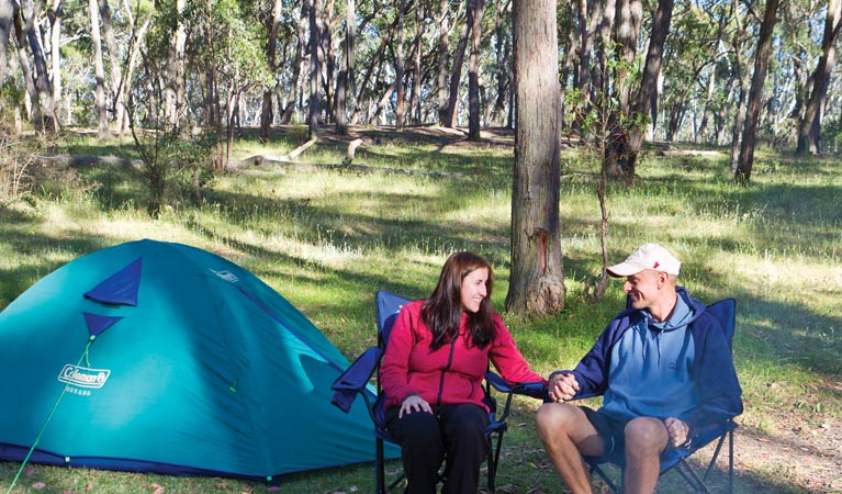 Apsley Falls campground - Accommodation in Brisbane