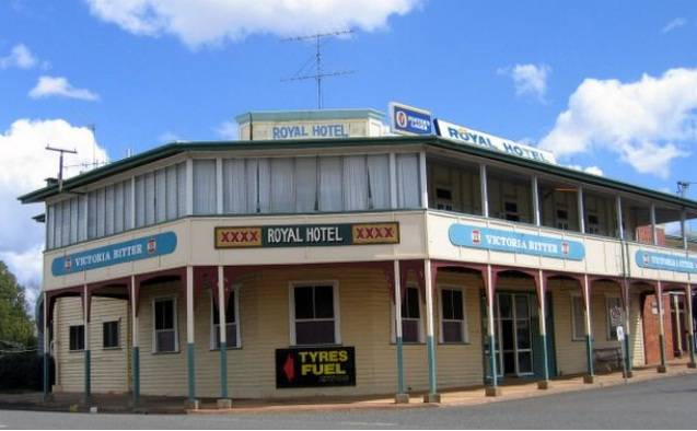 Royal Hotel Mundubbera - Accommodation in Brisbane