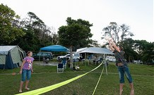Flat Rock Tent Park - Accommodation in Brisbane