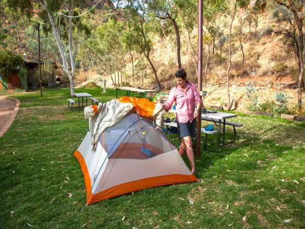 Standley Chasm Angkerle Camping - Accommodation in Brisbane