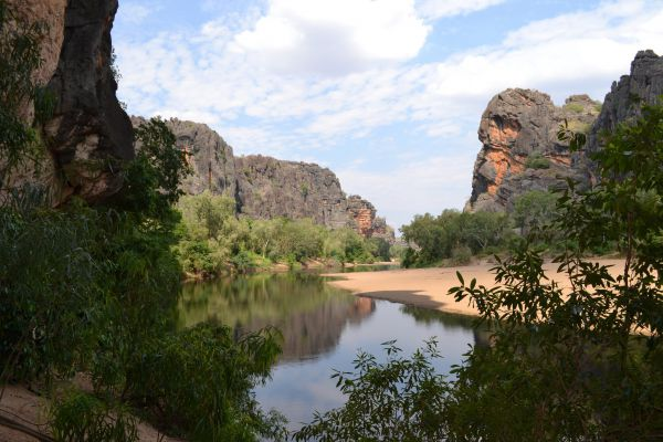 Windjana Gorge Camp at Windjana Gorge National Park
