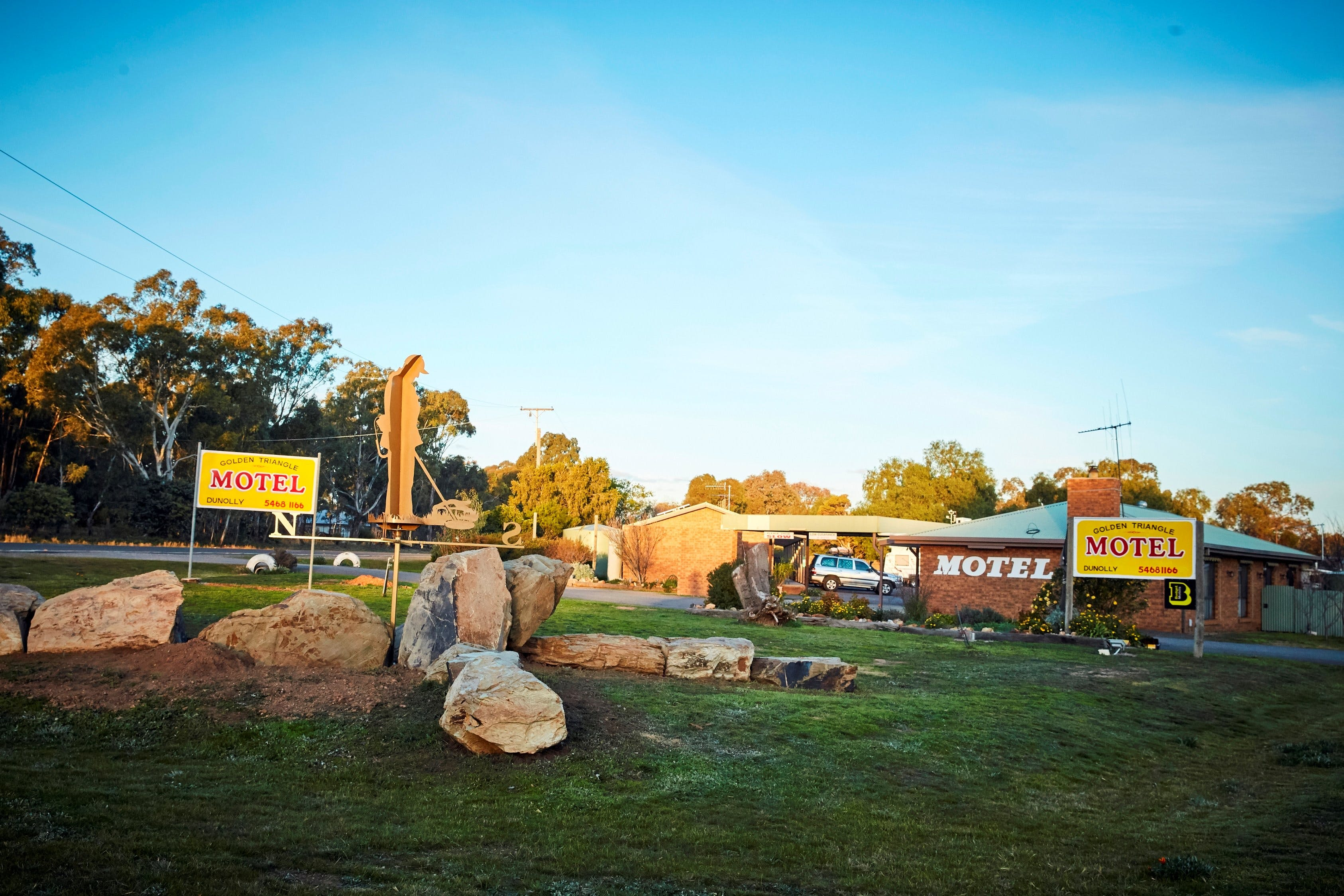 Dunolly Golden Triangle Motel - Accommodation in Brisbane