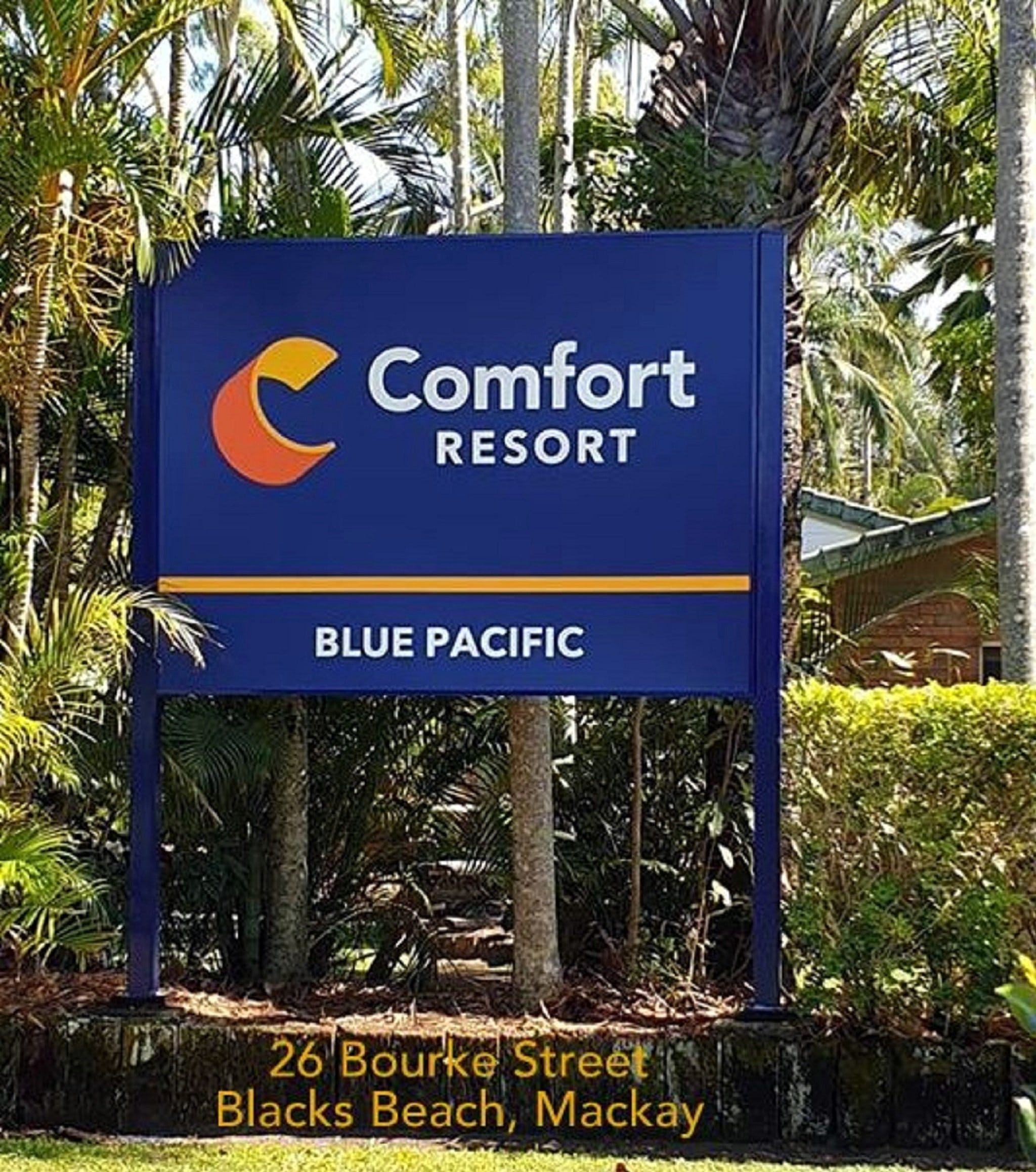 Comfort Resort Blue Pacific - Accommodation in Brisbane