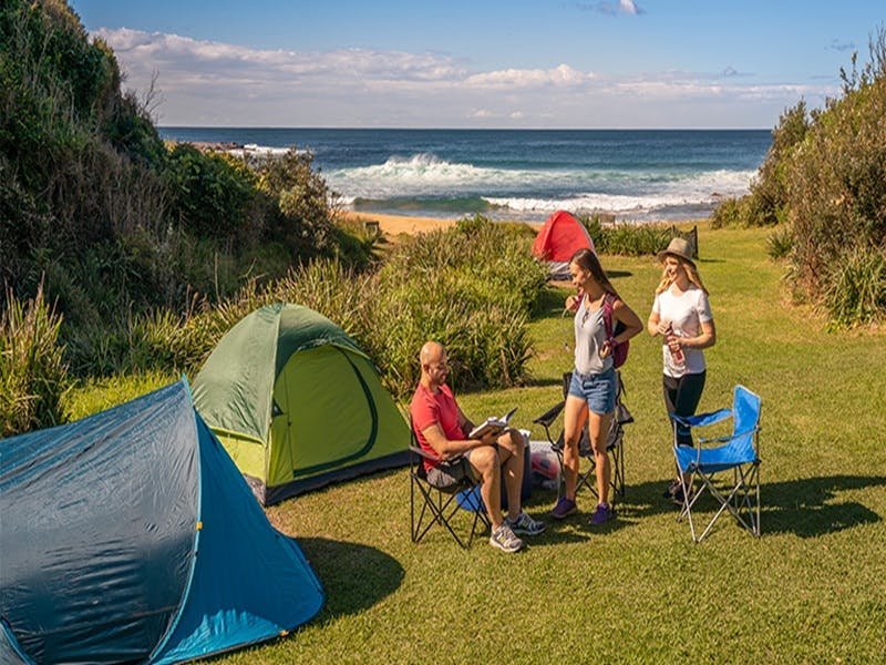 Little Beach campground - Accommodation in Brisbane
