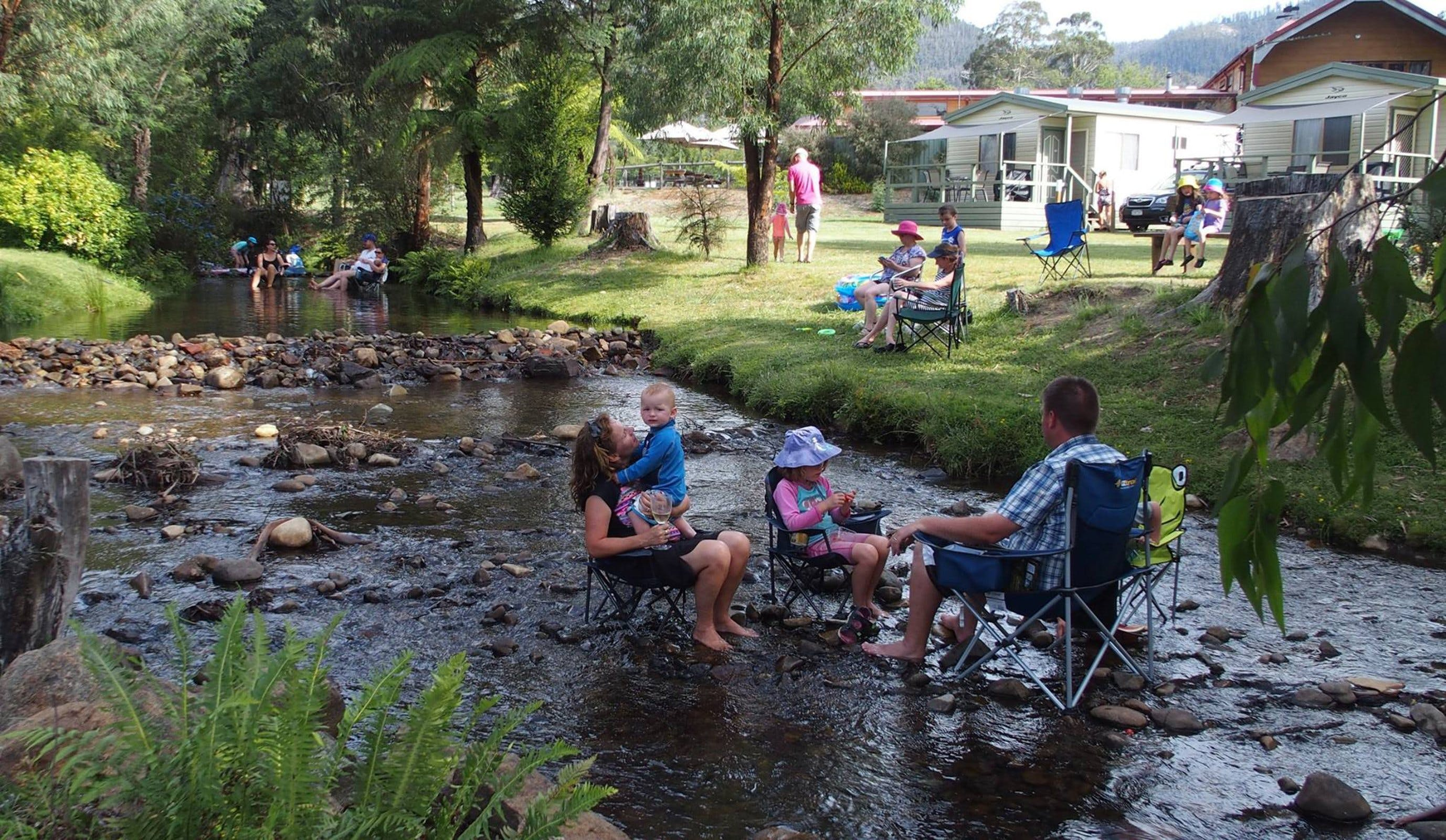 Marysville Caravan and Holiday Park - Accommodation in Brisbane