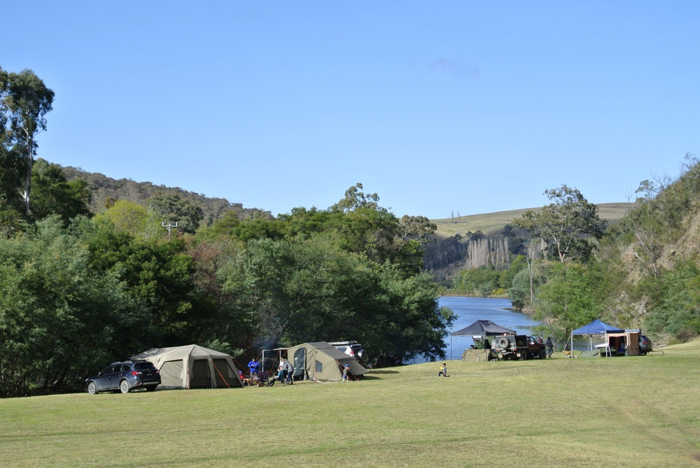 Montana on the Macalister Campground  Caravan Park - Accommodation in Brisbane