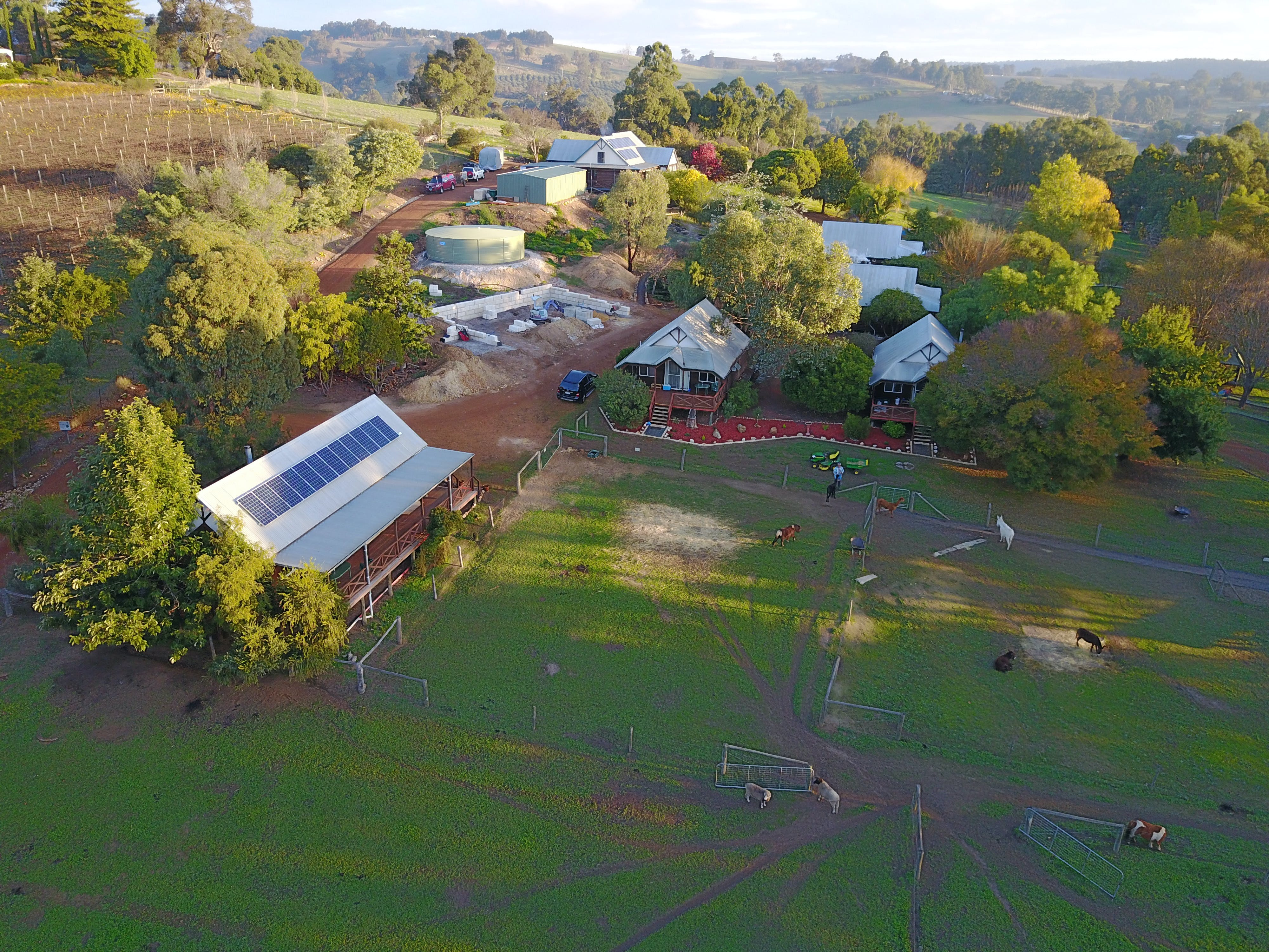 Sunnyhurst Chalets Farmstay - Accommodation in Brisbane