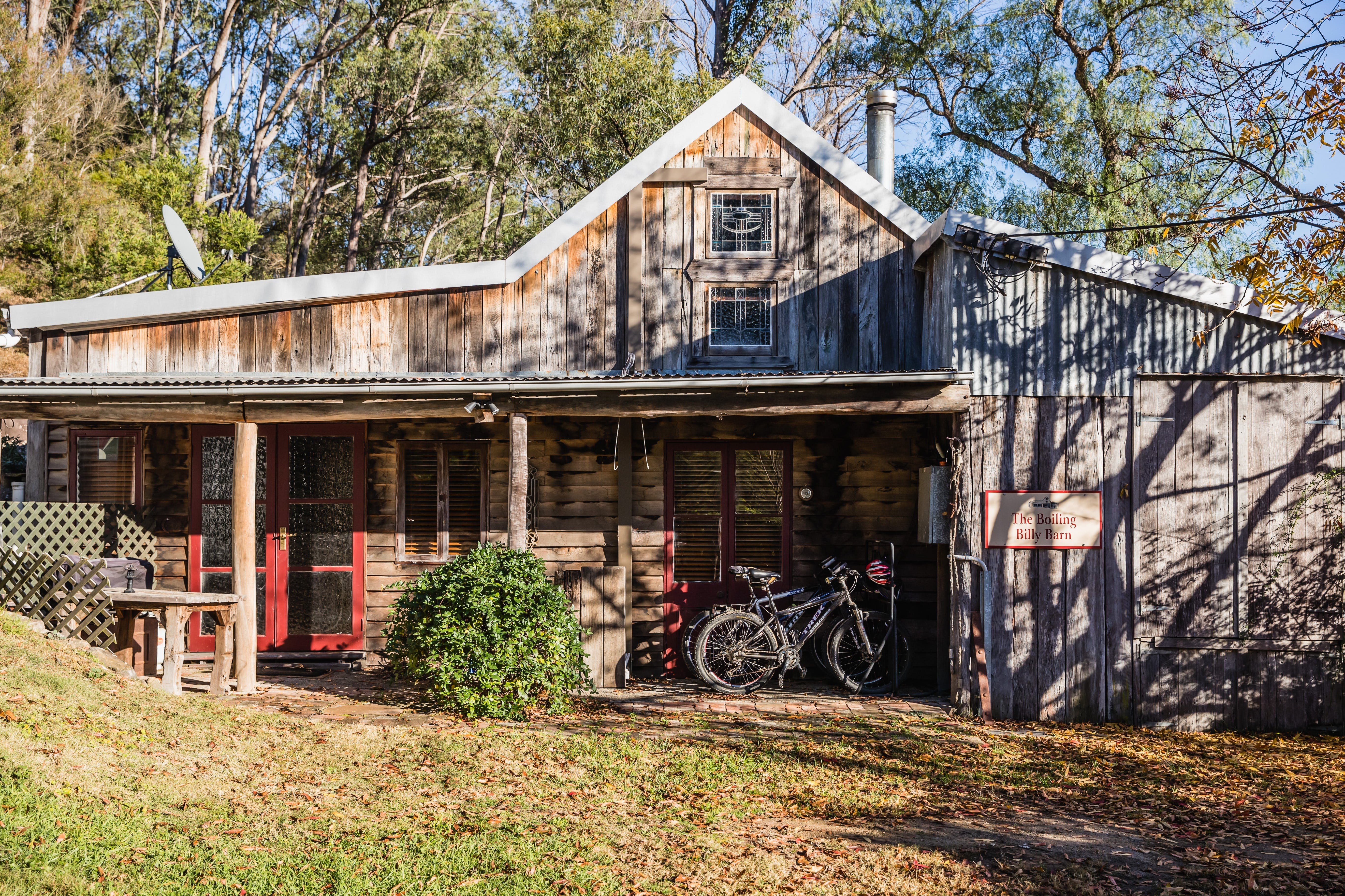 The Boiling Billy Barn - Accommodation in Brisbane