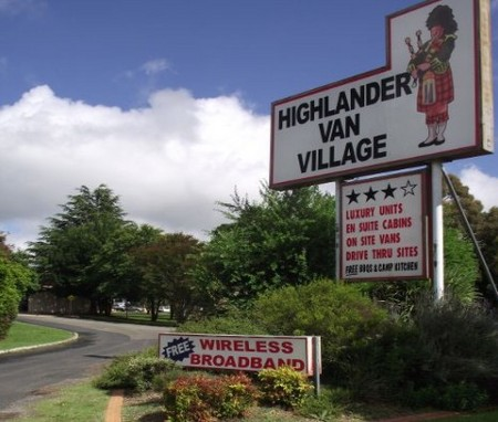 Highlander Van Village - Accommodation in Brisbane