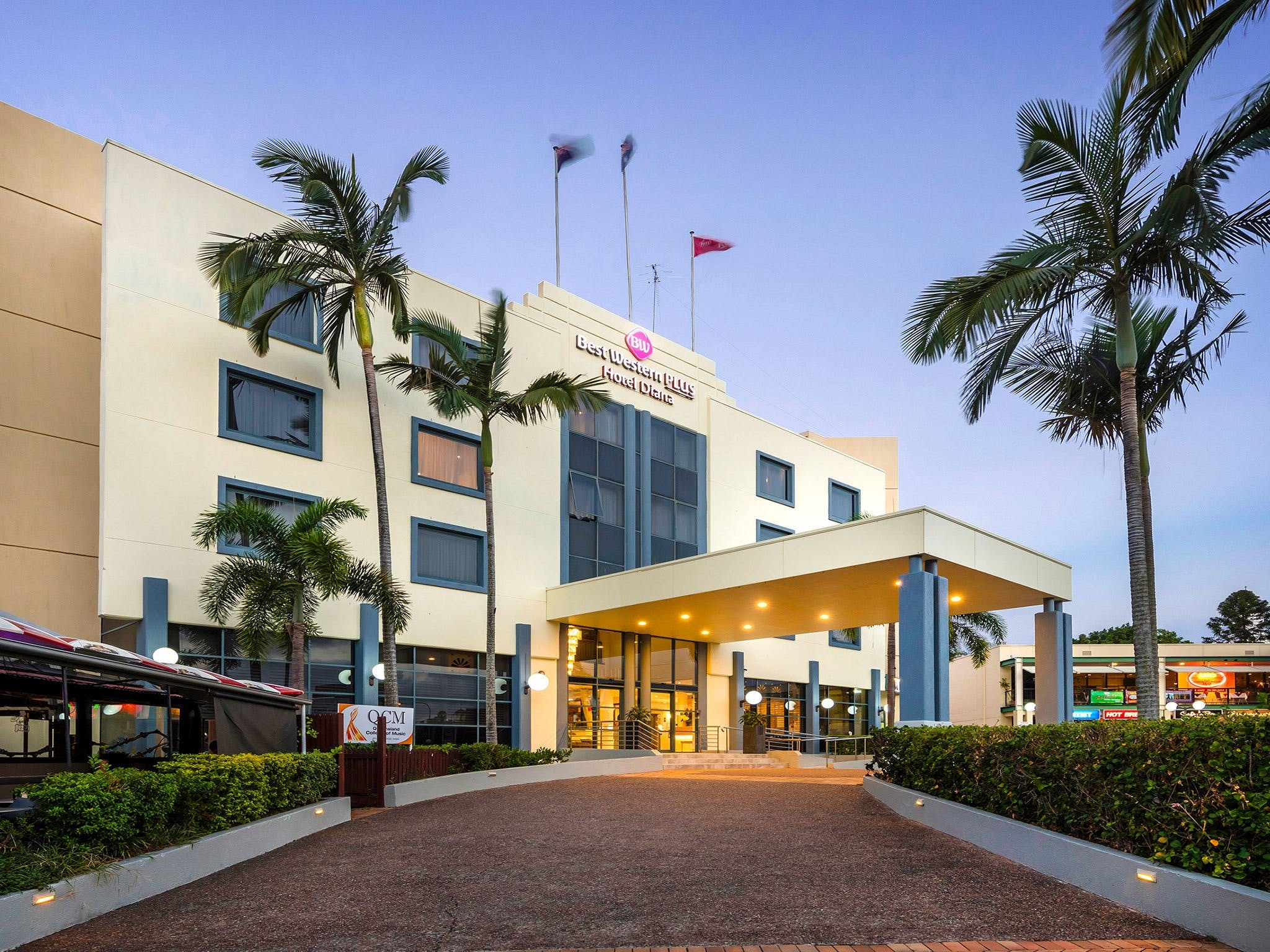 Best Western Plus Hotel Diana - Accommodation in Brisbane