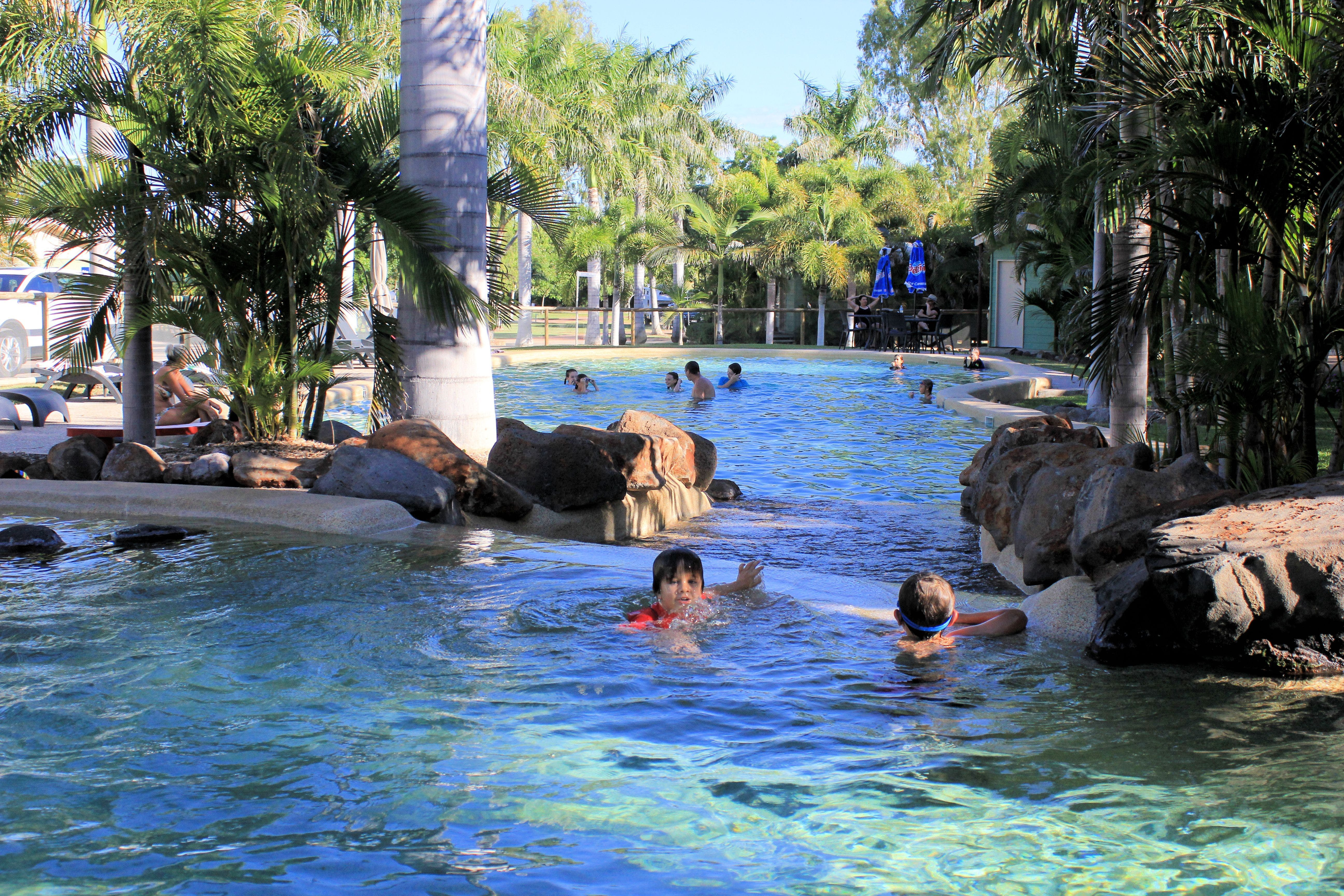 Big4 Aussie Outback Oasis Holiday Park - Accommodation in Brisbane