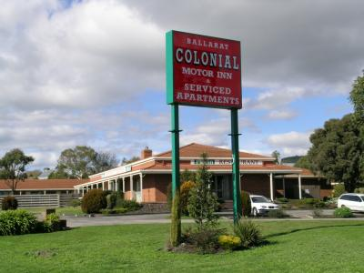 Ballarat Colonial Motor Inn - Accommodation in Brisbane