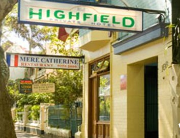 Highfield Private Hotel - Accommodation in Brisbane