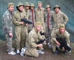 Challenge Paintball  Laser Skirmish - Accommodation in Brisbane