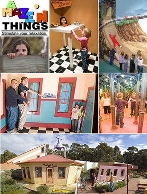 A Maze 'N Things - Accommodation in Brisbane