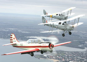 Vintage Tiger Moth Joy Flights - Accommodation in Brisbane