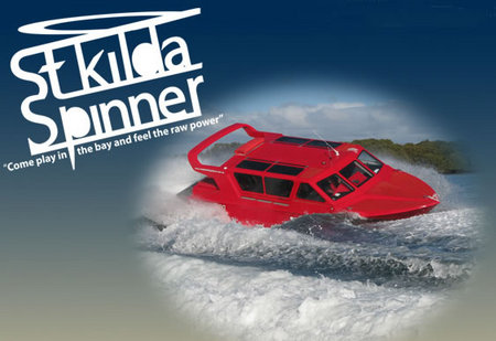 St Kilda Spinner Jet Boat Rides - Accommodation in Brisbane