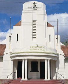 Guildford Town Hall - Accommodation in Brisbane