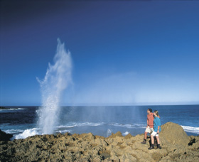 The Blowholes Carnarvon - Accommodation in Brisbane