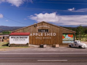 The Apple Shed Tasmania - Accommodation in Brisbane