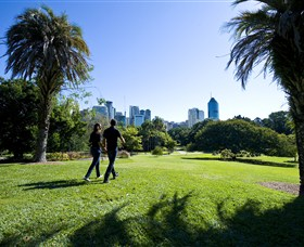 City Botanic Gardens - Accommodation in Brisbane