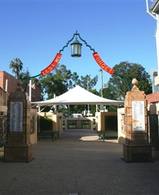 Gympie and Widgee War Memorial Gates - Accommodation in Brisbane