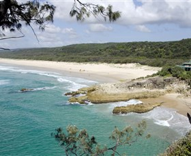 Main Beach North Stradbroke Island - Accommodation in Brisbane