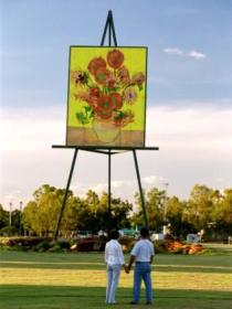 Van Gogh Sunflower Painting - Accommodation in Brisbane