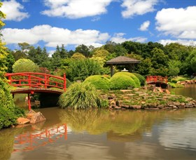 Japanese Gardens - Accommodation in Brisbane