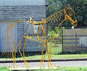 Augathella Wrought Iron Sculptures - Accommodation in Brisbane