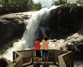 Murray Falls Girramay National Park - Accommodation in Brisbane