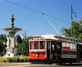 Bendigo Tramways Vintage Talking Tram Tour - Accommodation in Brisbane