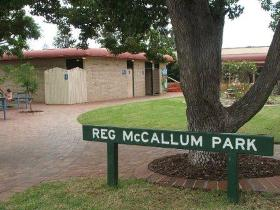 Reg McCallum Park - Accommodation in Brisbane
