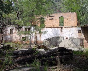 Newnes Shale Oil Ruins - Accommodation in Brisbane