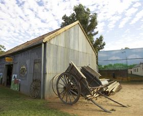 The Ned Kelly Blacksmith Shop - Accommodation in Brisbane
