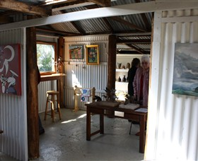 Tin Shed Gallery - Accommodation in Brisbane