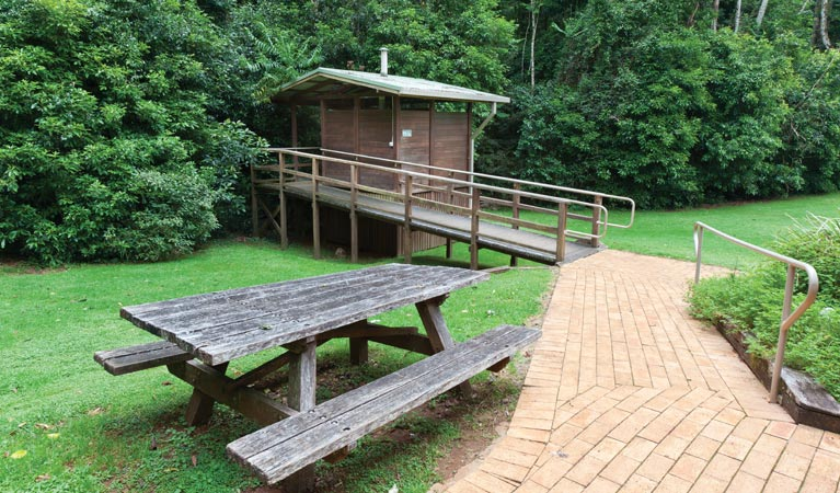 The Glade picnic area - Accommodation in Brisbane