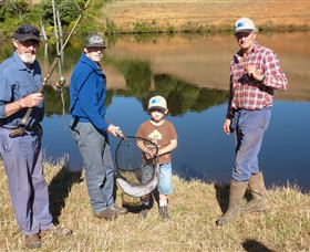 Natone Hills Fly Fishery - Accommodation in Brisbane