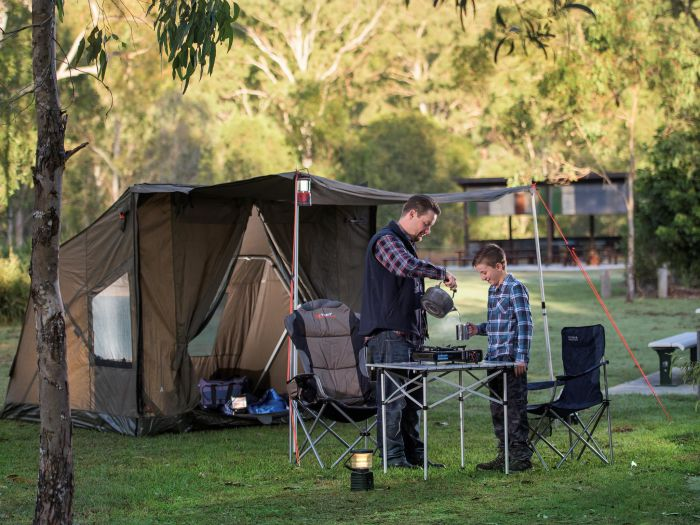 Hardings Paddock Campground - Accommodation in Brisbane