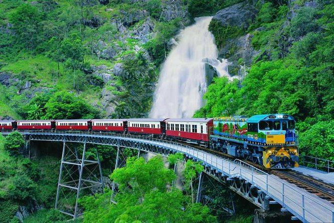 Full-Day Tour with Kuranda Scenic Railway Skyrail Rainforest Cableway and Hartley's Crocodile Adventures from Cairns - Accommodation in Brisbane