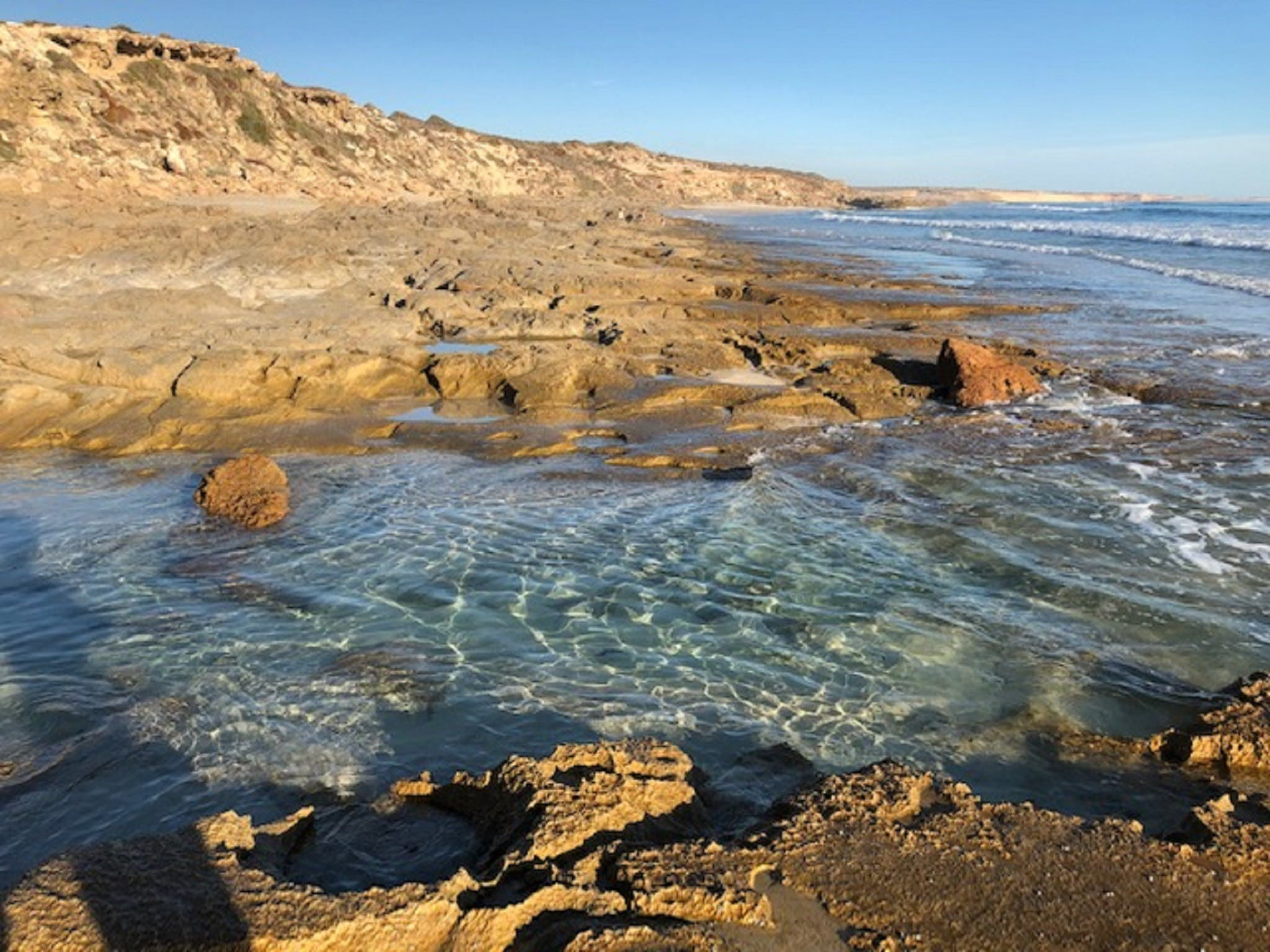 Streaky Bay - Back Beach - Accommodation in Brisbane