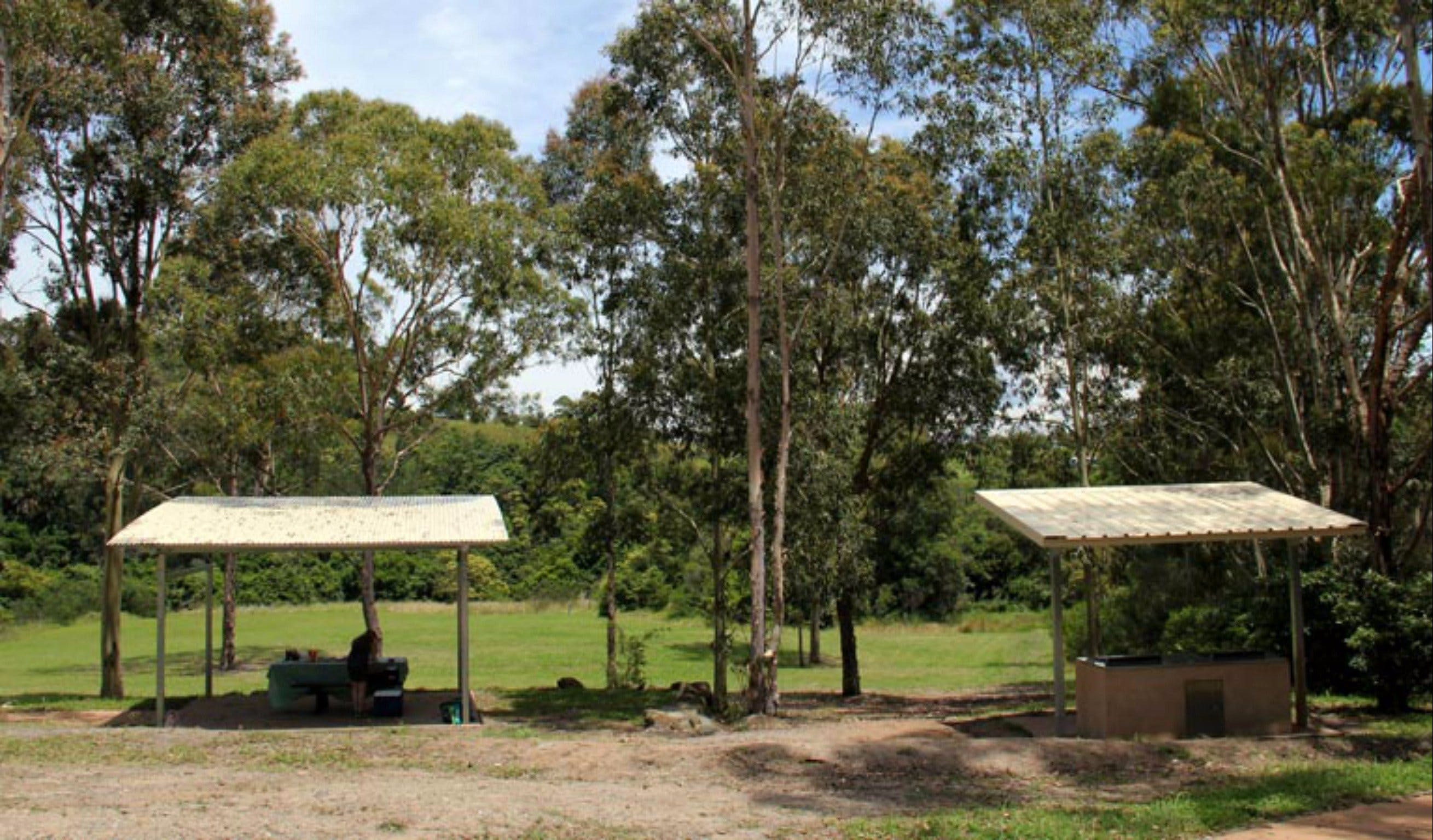 Back Creek picnic area - Accommodation in Brisbane