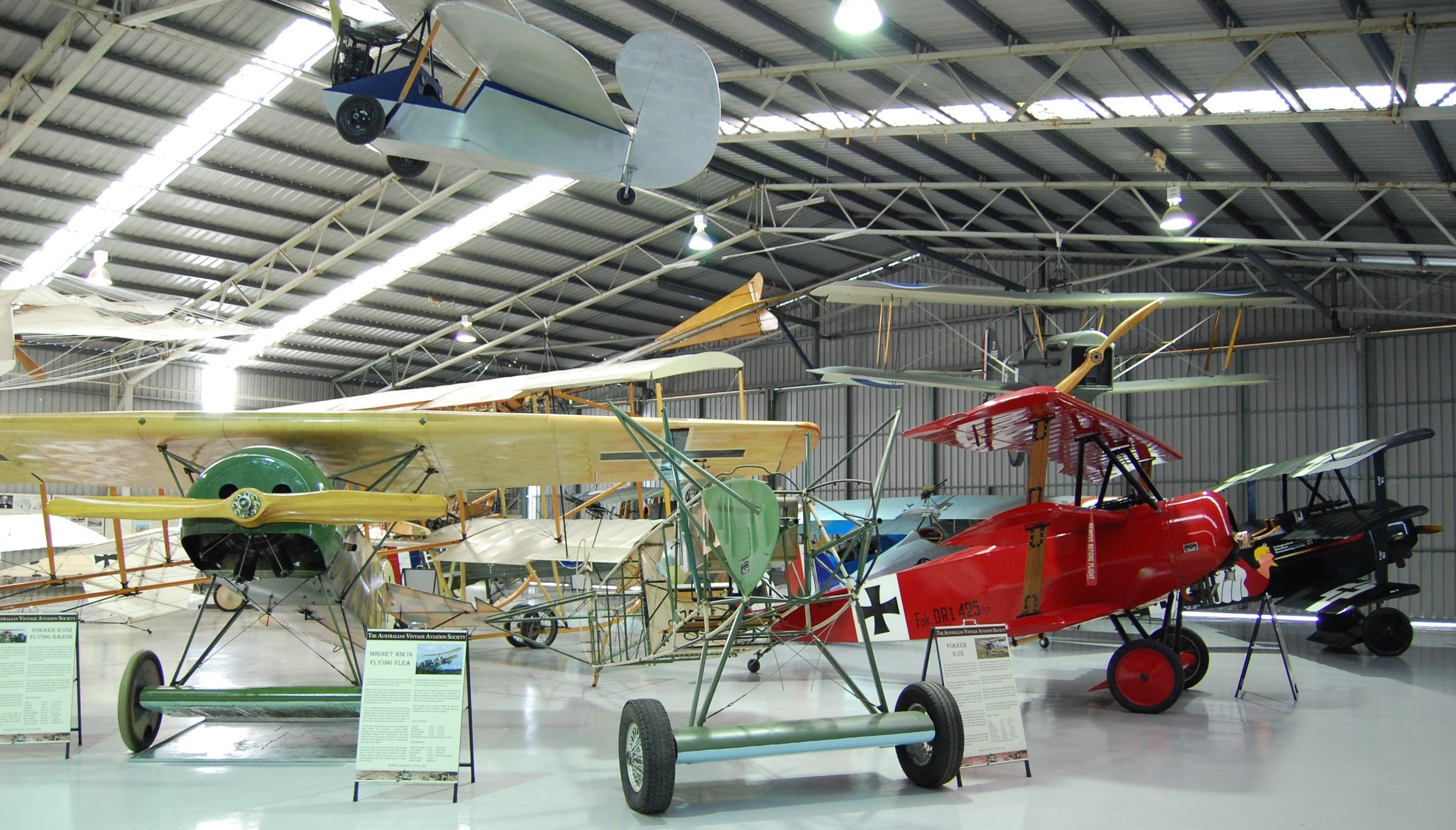 The Australian Vintage Aviation Society Museum - Accommodation in Brisbane