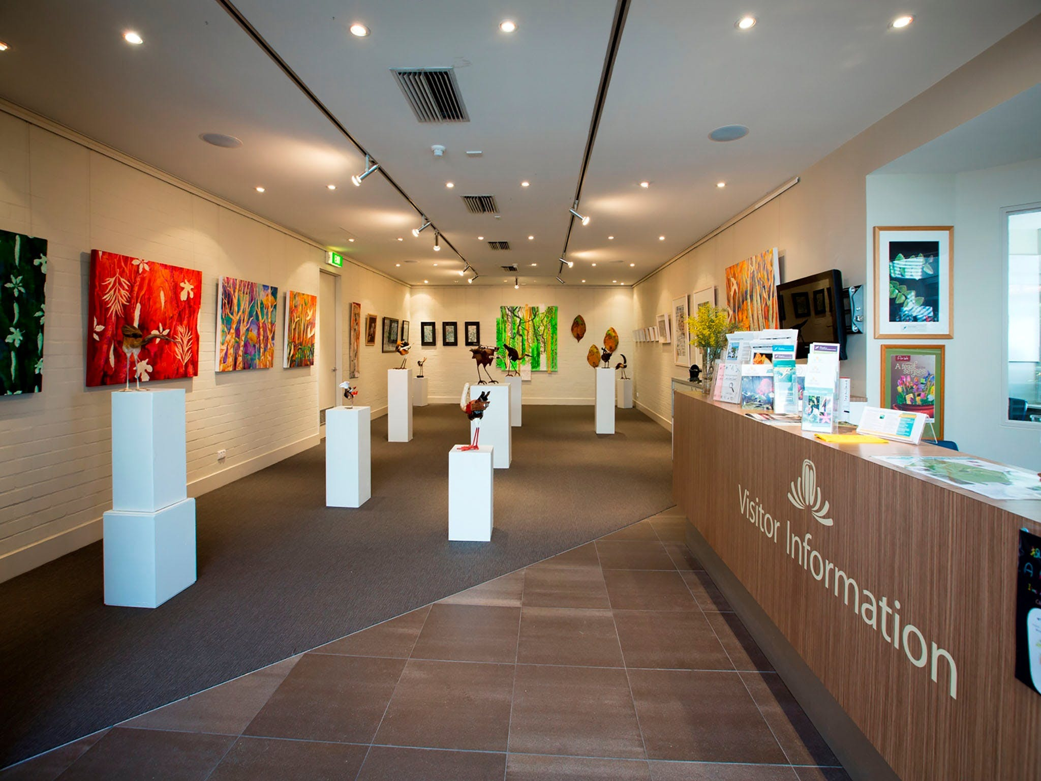Australian National Botanic Gardens Visitor Centre Gallery - Accommodation in Brisbane