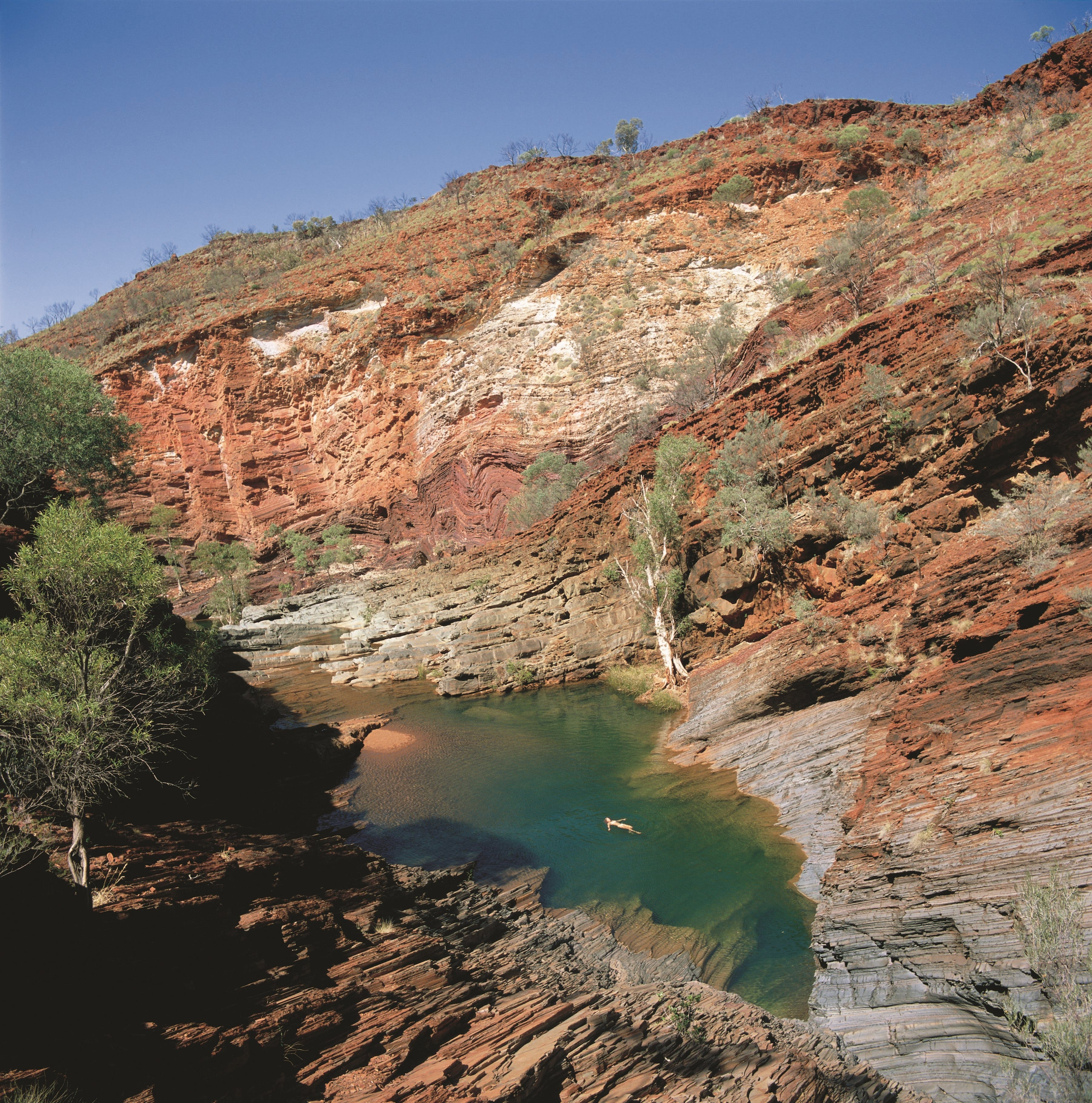 Hamersley Gorge - Accommodation in Brisbane