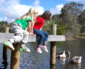 Vasse River and Rotary Park - Accommodation in Brisbane